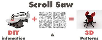 Free Printable Scroll Saw Patterns Custom Make CNC DIY Projects Products MakeCNC