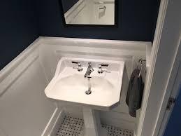 bathroom wall panelling