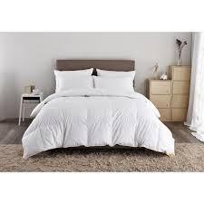 puredown 500 thread count white goose down comforter twin in white