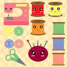Cute Pastel Button Clipart Image 17