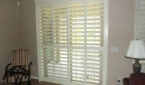 shutter blinds for patio doors plantation shutter for sliding glass doors by tablet desktop wooden