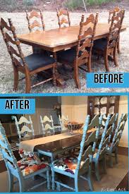 painted dining room furniture ideas. #rethunkjunk #breakthechalkhabit More Painted Dining Room Furniture Ideas G