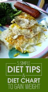 A Diet Chart For Gaining Weight Pin On Diet Plans To Lose Weight