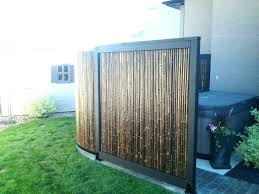 outdoor wood privacy screen canada panels bamboo ideas best garden screening on fence wooden home depot outdoor wood privacy screen