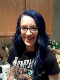 Dark Blue Hair Dye On Brown Hair