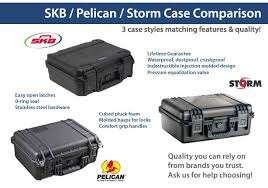 Pelican Case Size Chart Pelican Hardigg Storm Comparison Chart Coachella Trading