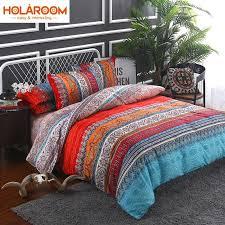 bohemian 3d comforter bedding sets 3 mandala duvet cover set winter flat sheet pillowcase twin full queen king jumbo size girls bedding shabby chic bedding