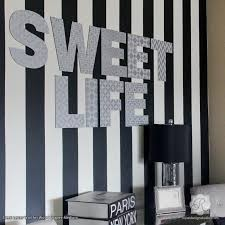 chic modern girl s room decor with painted wall art letters and wall quotes and craft stencils  on wall art letters with alphabet letters wall art wood shapes for diy decor royal design
