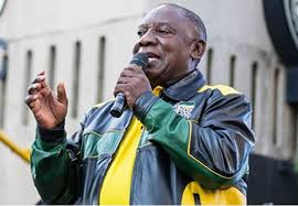 President of the african national congress. South Africa Unrest Was Planned Says Ramaphosa