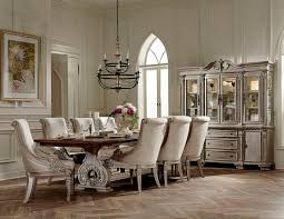 Von Furniture Vendome Round Formal Dining Room Set