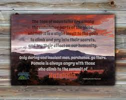 transcendentalism katahdin borderless print henry david thoreau quote in various sizes appalachian trail nature hiking transcendentalism painting