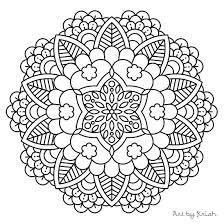 Adult Coloring Mandala Jeanettewalliscom