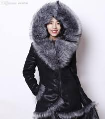 2018 whole evending russian fur coat natural fur skin winter jacket women import whole l fox collar high grade plus size s 4xl fur coat from yuanbai