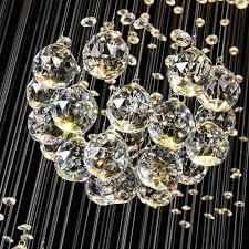 chandelier led lights crystal long drop ceiling pendant modern chandeliers home hanging lighting lamps fixtures dubai