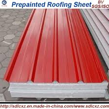0 14mm 0 8mm color coated galvanized corrugated steel roofing sheet