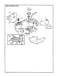 sears garage door opener partsCraftsman Garage Door Opener Parts Diagram Automotive Simple