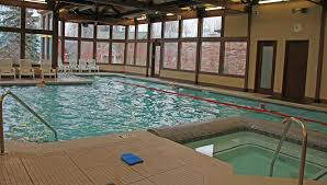 Creativity Indoor Pool And Hot Tub With A Slide Gallery Simple Ideas
