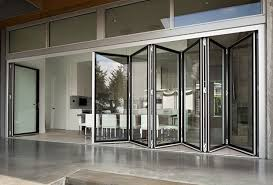 folding glass doors glass bifold doors