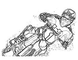Small Picture Dirt Bike Coloring Pages dirt bike coloring pages free Kids