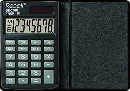 Rebell Re Shc108 Bx Pocket Calculator