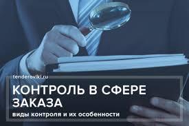 Контроль в сфере закупок контрольный орган виды контроля и их  контроль в сфере заказа