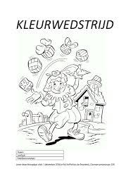 Almelos Weekblad Sint Kleurplatenactie Bij De Branderij