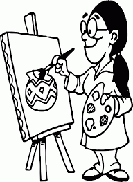 Small Picture Image Artist Tools Art Coloring Page Wecoloringpage Coloring Home