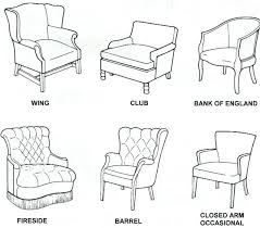 kinds of furniture styles. Interior: Different Styles Of Chairs Contemporary Types Used For Weddings Home Inside 15 From Kinds Furniture