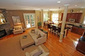 Open Kitchen And Living Room Designs Open Kitchen Living Room Design Ideas Wwwplentus