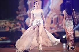 Miss Universe Thailand contestants take the catwalk for preliminary round