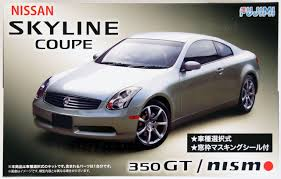 Fujimi ID-164 Nissan V35 Skyline Coupe 350GT or NISMO 1/24 Scale ...