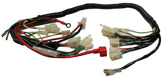 1 24 atv 50cc dino style wire harness for gy6 50cc motor