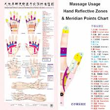 Standard Meridian Acupuncture Points Chart And Zhenjiu Moxibustion Acupoint Massage Chart For Head Hand Foot Body Health Care