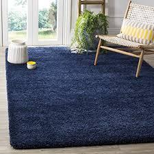 blue bedroom rugs. Brilliant Rugs Safavieh Milan Shag Collection SG1807070 Navy Area Rug 3u0027 X 5u0027 On Blue Bedroom Rugs Amazoncom