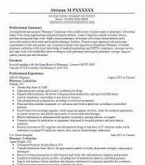 Pharmacy Technician Objectives Resume Objective Livecareer