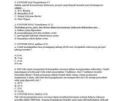Terima kasih telah berkunjung ke blog contoh soal. Contoh Soal C1 C2 C3 C4 C5 C6 Download File Guru