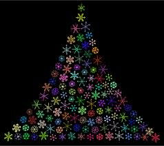 Free download christmas svg icons for logos, websites and mobile apps, useable in sketch or adobe illustrator. Prismatic Snowflake Christmas Tree Icons Png Free Png And Icons Downloads