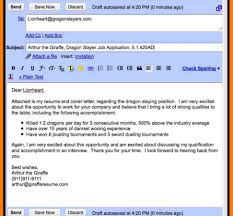 Email For Cover Letter And Resume Email Coverter For Job Application Resume Examples Free Inside 45