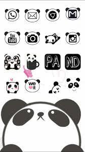 cute panda #cocoppa #homescreen #icon ...