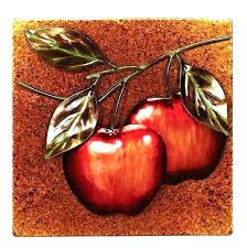 apple wall decor for kitchen fruit wall decor kitchen apple decorations for mixed wooden art