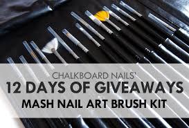 12 Days of Giveaways Day 05: MASH Nail Art Brush Sets (CLOSED ...