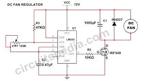 12v dc fan motor speed controller circuit diagram dc fan speed dc fan speed controller regulator