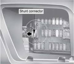 my kia sedona kia sedona fuses electrical system turn off the kia sedona engine 2 turn off the kia sedona headlights and tail lights 3 open the kia sedona driver s side panel cover and pull up the kia