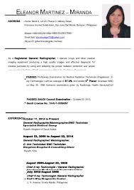 Gallery Of Eleanor Martinez Updated Resume October 2014 Updated