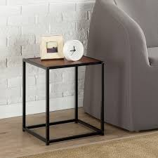 modern studio collection classic cube side table end table