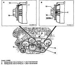 diagram for a mercedes benz s serpentine belt routing