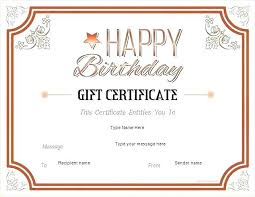 Shopping Spree Gift Certificate Template Gift Certificate Template For Mac Word Gift Certificate