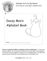 cover page for doozy moo s alphabet book