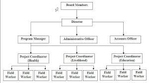 Typical Non Profit Organizational Chart Organizational
