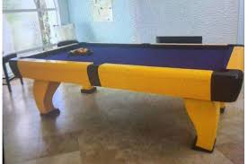 pool table weight. 8 Foot Pool Table Used Slate Top Outdoor Fiberglass Mesa Pies Weight A